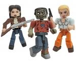 The Walking Dead Minimates Serie 2 Actionfiguren Doppelpacks Umk
