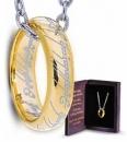 Herr der Ringe Ring mit Kette Der Eine Ring (Sterling Silber)