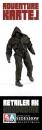 Adventure Kartel Actionfigur 1/6 Hoodzome Black 30 cm