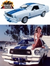 3 Engel für Charlie Diecast Modell 1/18 1976 Ford Mustang Cobra