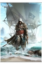 Assassin´s Creed IV Black Flag Wandrolle Vol. 1 105 x 77 cm