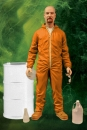 Breaking Bad Deluxe Actionfigur Walter White in Orange Hazmat Suit heo Exclusive 15 cm