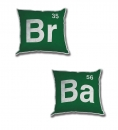 Breaking Bad Kissen Set Logo 30 x 30 cm