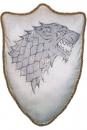 Game of Thrones Plüschkissen Wappen Haus Stark 56 cm