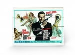 James Bond Holzdruck From Russia With Love 1 40 x 60 cm