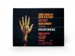 James Bond Holzdruck Goldfinger - One-sheet 40 x 60 cm