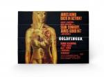James Bond Holzdruck Goldfinger - Projection 40 x 60 cm