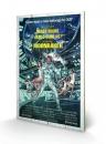 James Bond Holzdruck Moonraker One-sheet 40 x 60 cm
