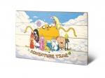 Adventure Time Holzdruck Cloud 40 x 60 cm