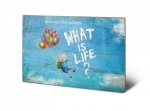 Adventure Time Holzdruck What Is Life? 40 x 60 cm