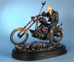 Marvel Statue Ghost Rider on Motorcycle 23 cm