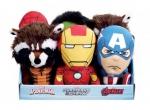 Marvel Comics Plüschfiguren mit Sound 20 cm Display